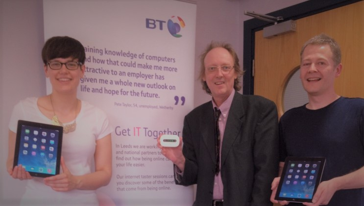 Partners in the Get IT Together Project in Leeds