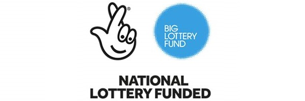 National Lottery Funded logos
